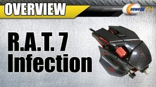 Newegg TV_ Cyborg R.A.T. 7 Infection USB Wired Laser Mouse Overview