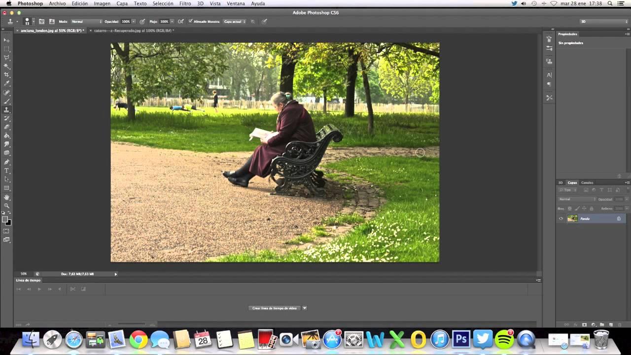 Cómo eliminar el fondo de una imagen utilizando Photoshop CS6
