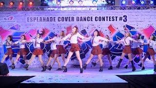 160910 Girlaxy cover KPOP - Whatta Man (Good man) + HERO + Dream Girls @ Esplanade#3 (Semi-Final)