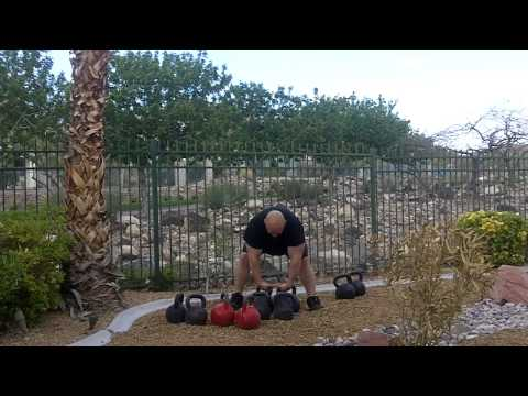 Kettlebell Clean and Press Wave loading workout with Mike Mahler, Bud Jeffries, and Josh Franklin Image 1