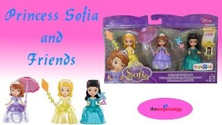 Sofia The First Princess Sofia and Friends unboxing toys exclusive ToysRus TRU