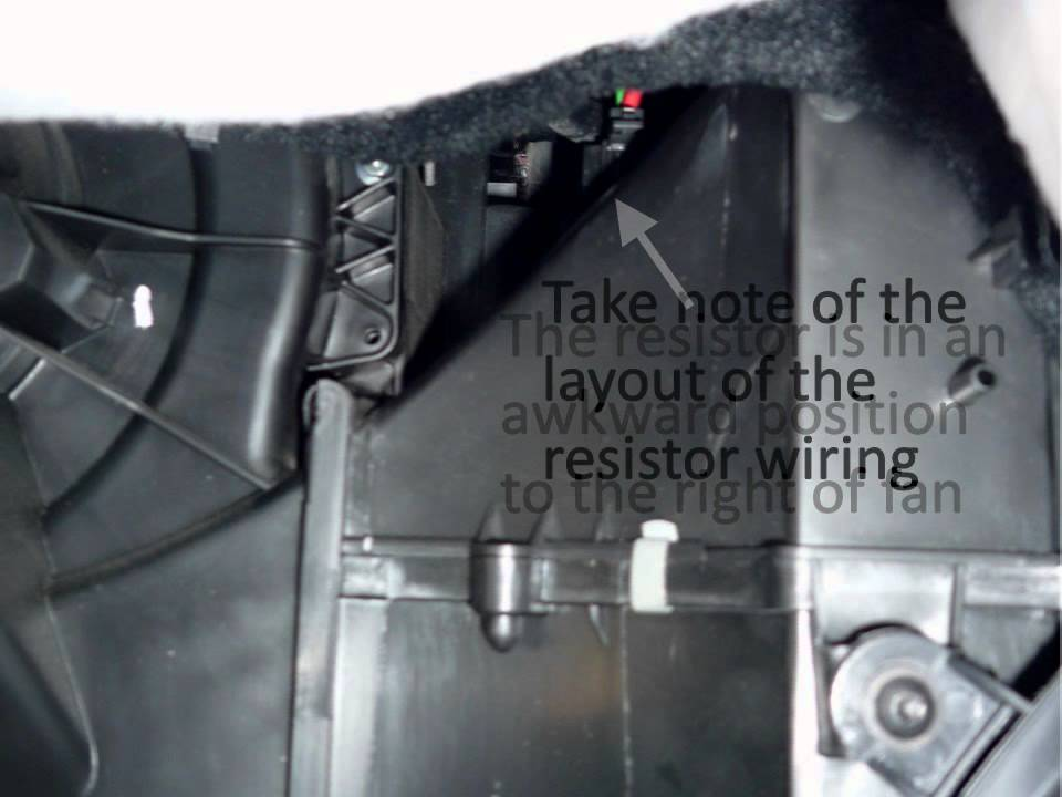Volvo C30 2010 2013 Fuse Box Diagram moreover Watch moreover Only Can Start Jeep Jumping Starter Relay Help 195756 additionally Bmw Diy Video Replacing 3 Series Heat And Ac Blower Motor And Or Final Stage Resistor E90 E82 E84 F25 E89 furthermore HVAC 20System. on blower fan wiring