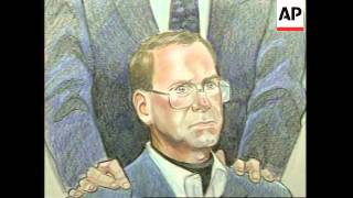 USA: DENVER: TERRY NICHOLS OKLAHOMA CITY BOMBING TRIAL
