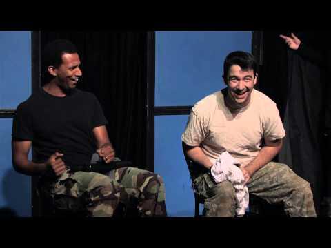 Taliban discuss the Bowe Bergdahl prisoner exchange (sketch)