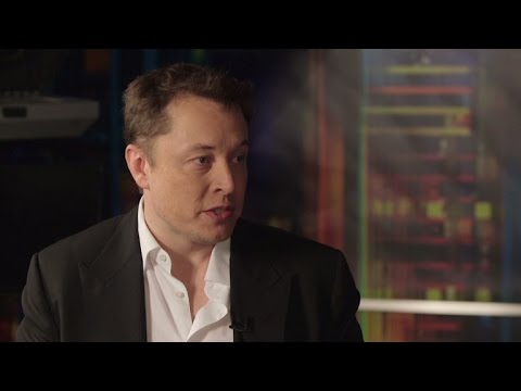 Elon Musk talks to CNN about SpaceX recent NASA Contract and Boeing