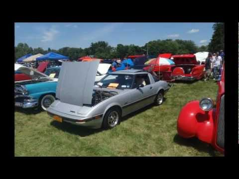 This is the 1981 Mazda RX7 with I purchased on Ebay. It is at the Iroquois Region AACA 47th Annual Cruise/ Auto Show at Conklin, New York. on June 17, 2012.