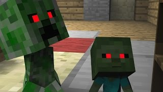 Monster School (Preschool) - Secret Potions - Minecraft Animation