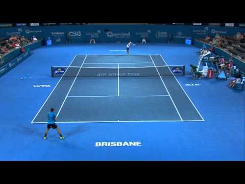 Marinko Matosevic v Kei Nishikori - Highlights Men's Singles Round 1: Brisbane International 2013