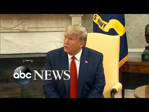 Trump backtracks after Saudi attack вI donвt want war with anybodyв