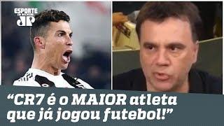 """""""Cristiano Ronaldo é o MAIOR atleta que já jogou futebol na HISTÓRIA!"""", dispara Mauro Beting"""
