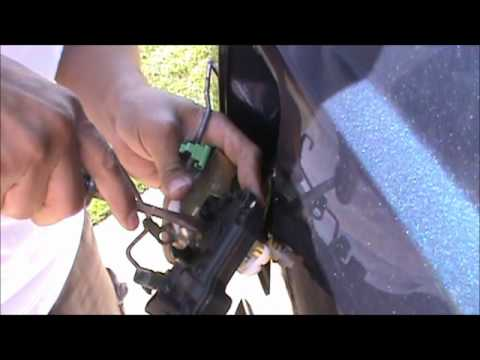Ford F250 Power Door Lock Actuator removal and repair