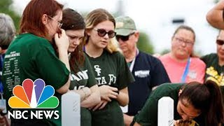 Santa Fe School District Holds Meeting Following Shooting | NBC News