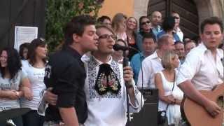 """""""In einem kleinen Städtchen irgendwo"""" - Jürgen aus Siebenbürgen - Dinkelsbühl 2012 - Sachsesch Owend"""