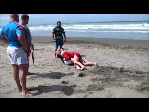 Franks Brothers (ALL BLACK) SAMBO Self Defence on Beach Training Image 1