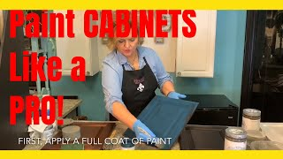 How to paint CABINETS like a PRO!