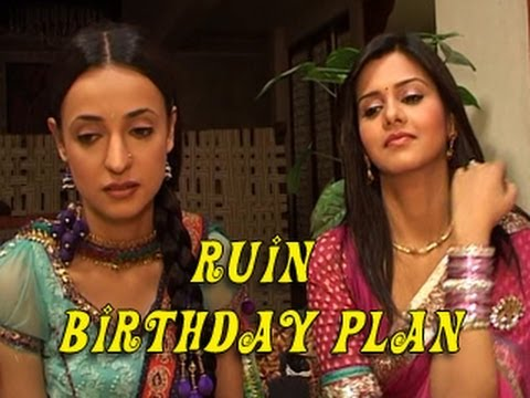 Anjali RUINS Khushi's BIRTHDAY PLANS in Iss Pyaar Ko Kya Naam Doon 14th July 2012