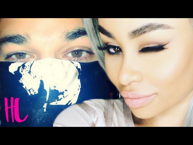 Blac Chyna And Rob Kardashian First Pictures Together