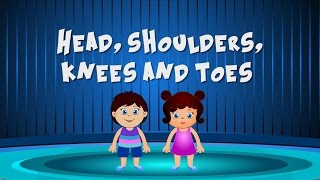 Head, Shoulders, Knees and Toes | Exercise Song For Kids | Latest Nursery Rhymes