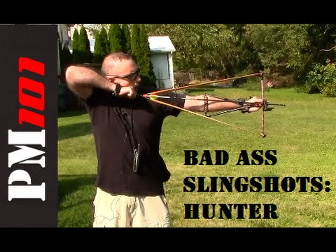 Bad Ass Slingshots Hunter: The Jessica Of Slingbows!   - Preparedmind101