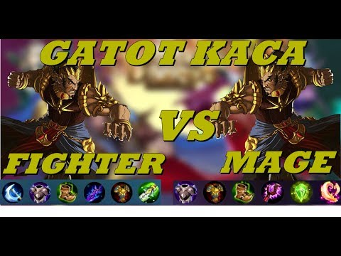 Gatot Kaca Fighter VS Gatot Kaca Mage - Gatot Kaca Build Review - Mobile Legends #43