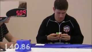 world record rubik