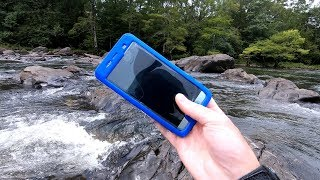 The Rainy River Hunt! - Found Phones, Rings and Knives!