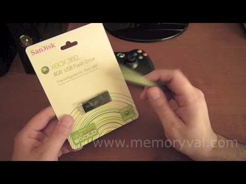 Memoria USB Sandisk Para XBOX 360 - Review  How To Save Money And Do