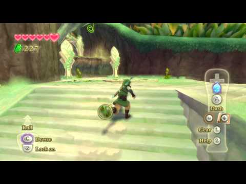 Dolphin Emulator Legend Of Zelda Skyward Sword 1920x1080p Xbox 360 controller 100% Gameplay Video