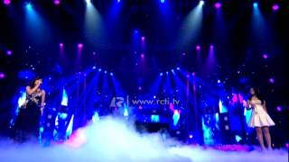 "Novita Dewi feat. Hanin Dhiya ""Jar of Heart"" - Mega Konser Dunia"