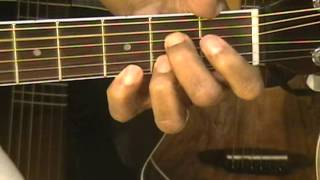 How To Play Old School 12 Bar Blues PART 4 On Guitar Adding Flavor Notes + Bonus Ending