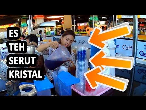 Es Teh Kristal di Royal Plaza   Wisata Kuliner Surabaya