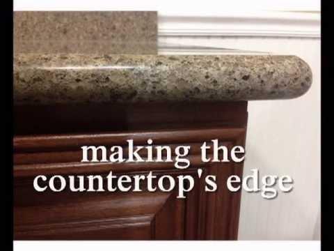 What is a Bullnose Edge Full Bullnose Edge on Granite
