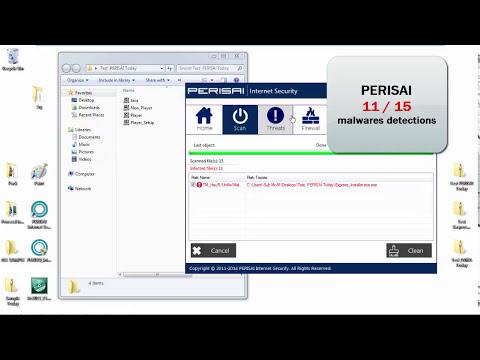 PERISAI - Avira - Trend Micro VS Malwares