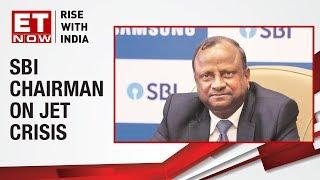 SBI Chairman Rajnish Kumar to meet FM Arun Jaitley | ET  Now Exclusive