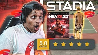 THE BEST VERSION OF NBA 2K20... IS ON GOOGLE STADIA
