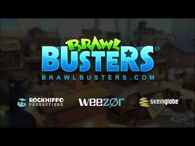 Brawl Busters Roof Court Map