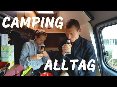 Camping Alltag und lustige Geschichte im Onsen in Japan • Weltreise | VLOG #347