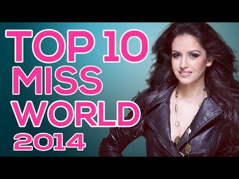 Top 10 Strong Finalists Of Miss World 2014 (prediction) video