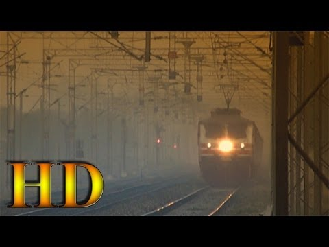 IRFCA - India's Fastest Train; Bhopal Shatabdi Express At Full Speed !!!