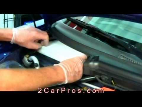 Air Cabin Filter Replacement 1999 2005 Porsche Carrera