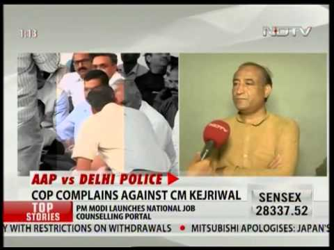 Constables file FIR against Kejriwal for referring to Delhi cops as 'thulla'