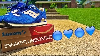 Saucony Courageous Unboxing + On Feet!