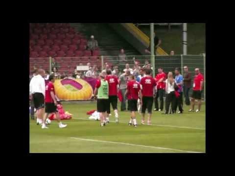 Otwarty trening Reprezentacji Czech EURO 2012 stadion WKS Śląsk Wrocław, autografy!