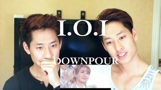 I.O.I - DOWNPOUR MV REACTION 아이오아이 소나기 (TWINS REACT)