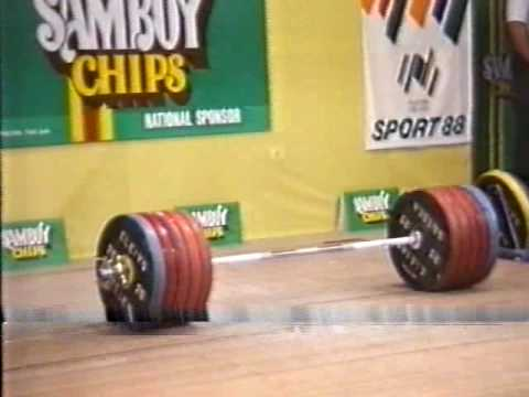 Leonid Taranenko world record 266kg clean and jerk.WMV Image 1