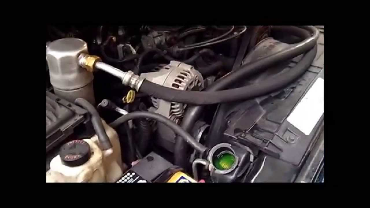 1997 chevy blazer coolant flush 4 3l