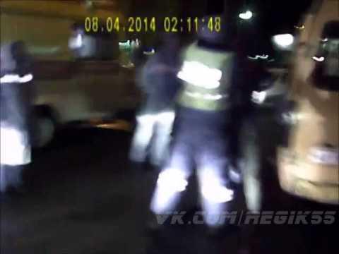 Пьяный водитель ГАЗели попал в ДТП в Омске 08.04.2014