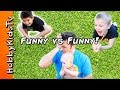 Funny Vs Funny CHALLENGE! Baby Farts + Silly Jokes, Funny Fac...