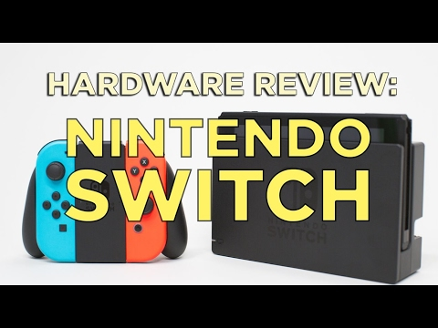 NINTENDO SWITCH Review! Polished Hardware, Unfinished Software, and Expensive Accessories
