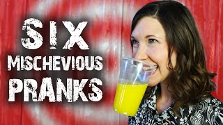 6 Mischievous Tricks & Pranks - for April Fools'